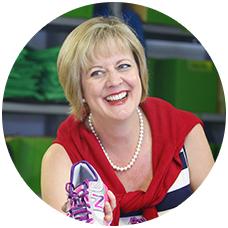 Kim Grossett, Financial Manager, Run/Walk For Life