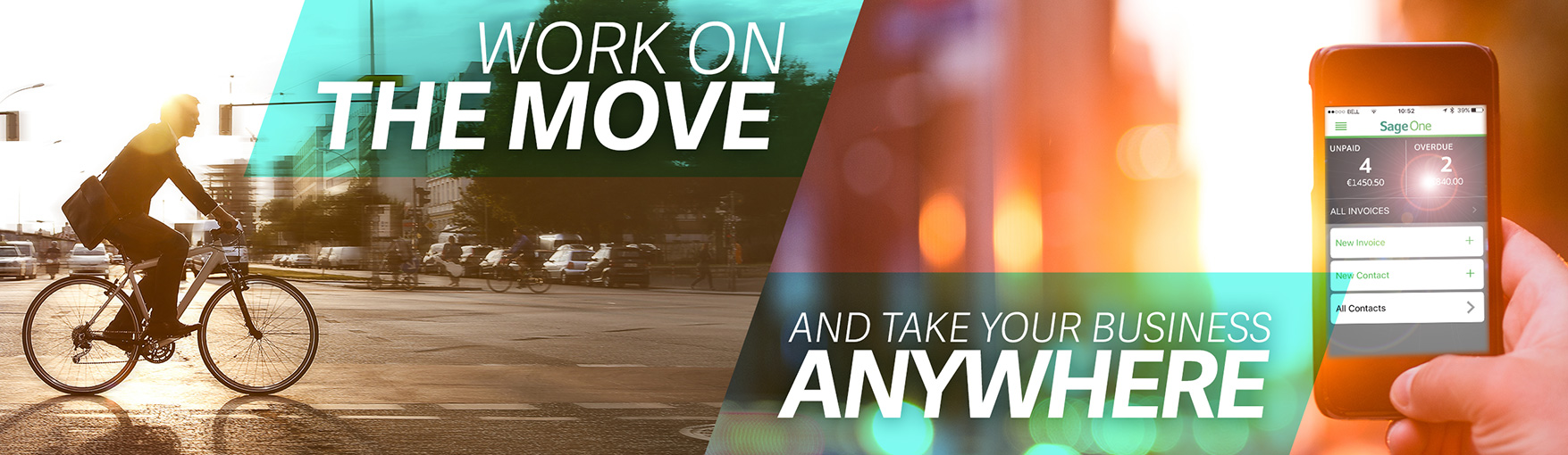 Work on the move. And take your business anywhere.