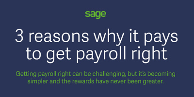 Infographic payroll